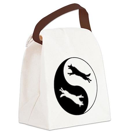 yinyang Canvas Lunch Bag