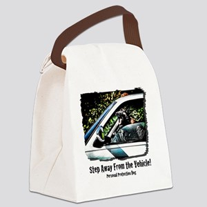 vehicle defense Canvas Lunch Bag