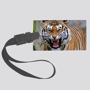 Atiger coin Large Luggage Tag