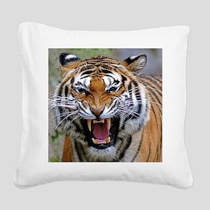 Atiger mousepad Square Canvas Pillow