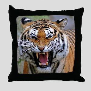 Atiger mousepad Throw Pillow