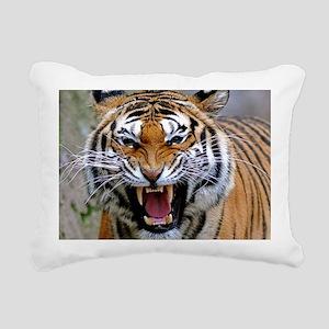 Atiger mousepad Rectangular Canvas Pillow