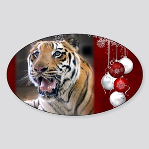 In-Sync Exotics - Christmas Card -  Sticker (Oval)