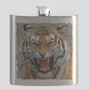 Atiger shirt Flask