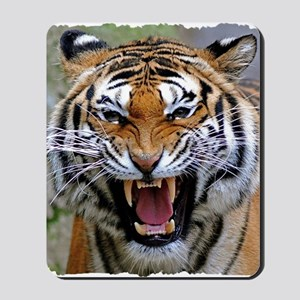 Atiger shirt Mousepad