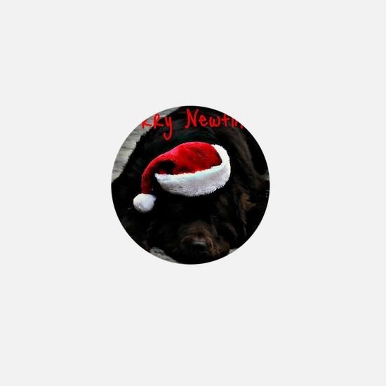 merry newfmas Mini Button