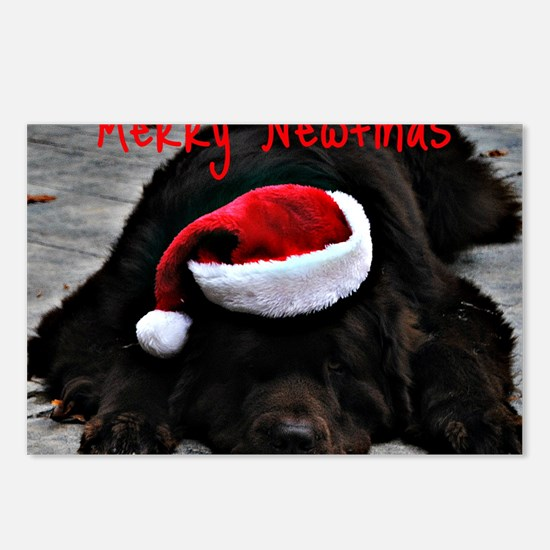 merry newfmas Postcards (Package of 8)