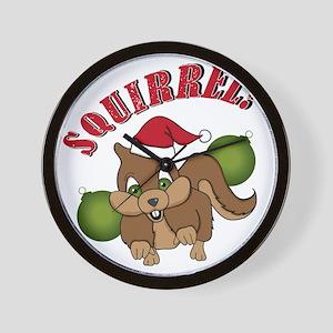 squirrel-1 Wall Clock