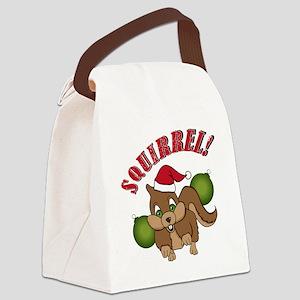 squirrel-1 Canvas Lunch Bag