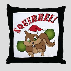 squirrel-1 Throw Pillow