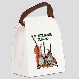 DAmbrosioArts_BluegrassRules Canvas Lunch Bag