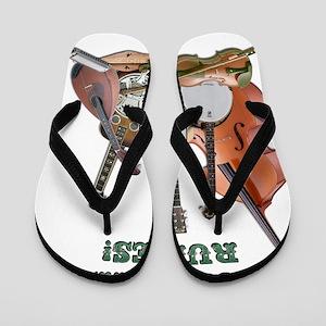 DAmbrosioArts_BluegrassRules Flip Flops