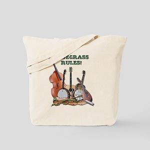 DAmbrosioArts_BluegrassRules_sm Tote Bag