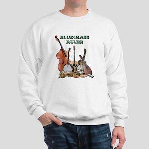 DAmbrosioArts_BluegrassRules_sm Sweatshirt