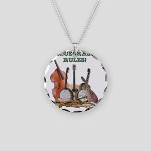DAmbrosioArts_BluegrassRules Necklace Circle Charm