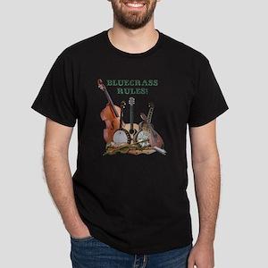 DAmbrosioArts_BluegrassRules_sm Dark T-Shirt