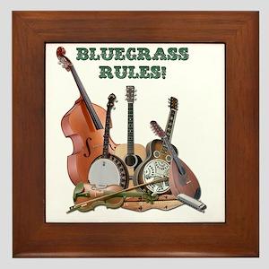 DAmbrosioArts_BluegrassRules_sm Framed Tile