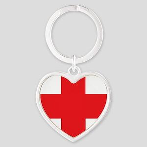 first_aid Heart Keychain