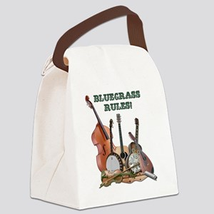DAmbrosioArts_BluegrassRules_sm Canvas Lunch Bag