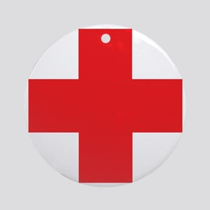 first_aid Round Ornament