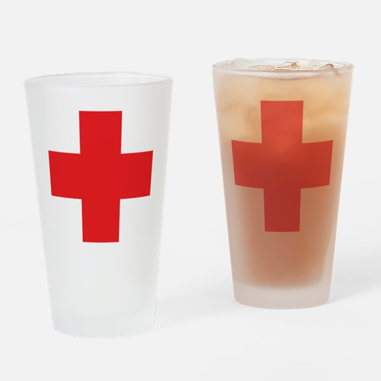 first_aid Drinking Glass