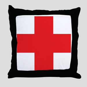 first_aid Throw Pillow