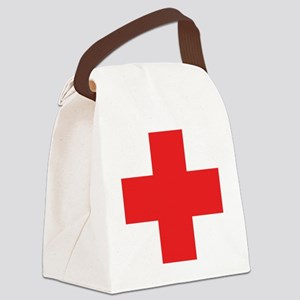 first_aid Canvas Lunch Bag