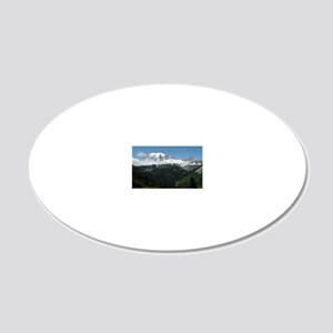 415 20x12 Oval Wall Decal