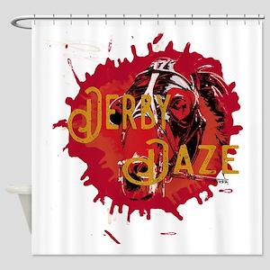 Derby Daze - Horse Racing Shower Curtain