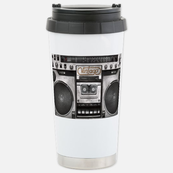 BOOM BOX LAPTOP SKIN Stainless Steel Travel Mug