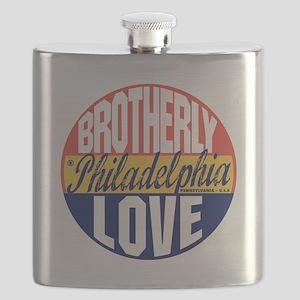 Philadelphia Vintage Label B Flask