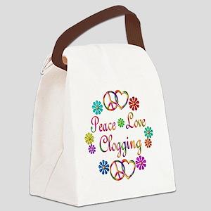 clogging Canvas Lunch Bag