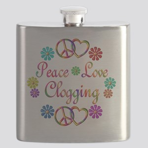 clogging Flask