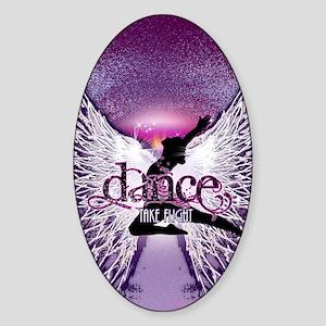 Dance Take Flight by DanceShirts.co Sticker (Oval)