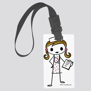 nurse Large Luggage Tag