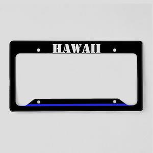 Hawii Police License Plate Holder