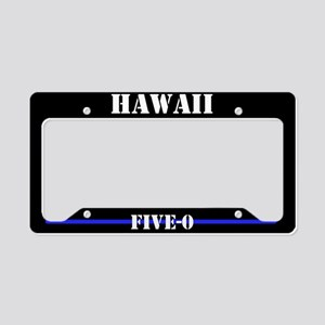 Hawaii Police License Plate Holder