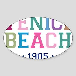 Venice Beach 1905 B Sticker (Oval)
