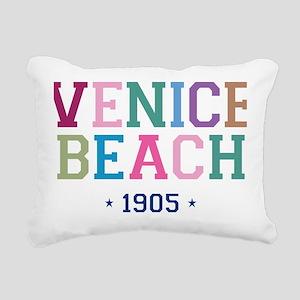 Venice Beach 1905 B Rectangular Canvas Pillow