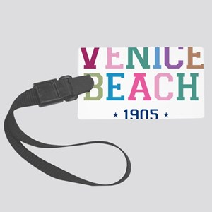 Venice Beach 1905 B Large Luggage Tag