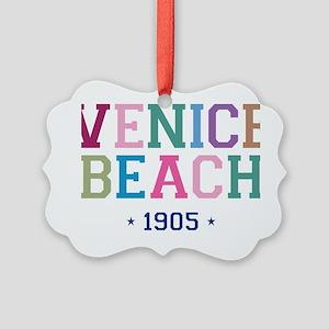 Venice Beach 1905 B Picture Ornament