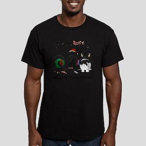 NewfieShirtLight Men's Fitted T-Shirt (dark)