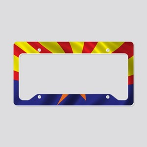 arizona_flag License Plate Holder