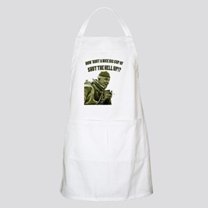 CUP OF SHUT THE HELL UP Apron