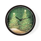 Christmas Wall Clocks