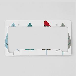 wintertreeandbird License Plate Holder