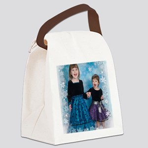 Ru and T Canvas Lunch Bag