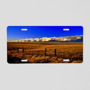 The Prairies Edge Aluminum License Plate
