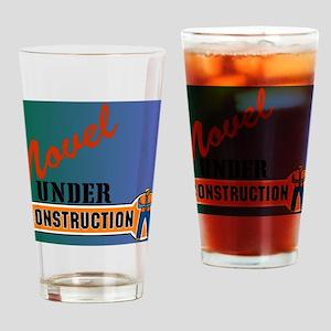 Novel Under Construction journal3 Drinking Glass
