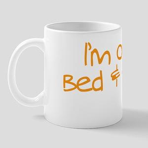outofbeddrk copy Mug